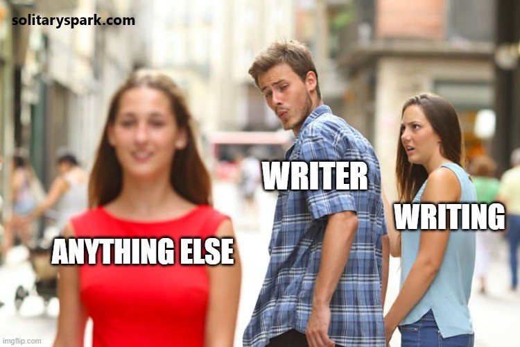 writing boyfriend meme